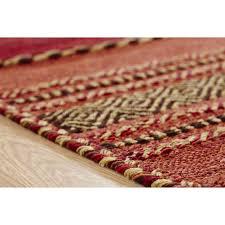 kelim flat weave rug red runner 67 x 220 cm 2 7 3