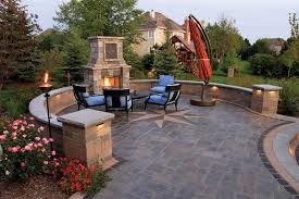 patios with fireplaces and richcliff patio with fireplace paver patio with fireplace