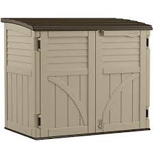 Small Picture Suncast 34 cu ft Horizontal Storage Shed The Home Depot Canada