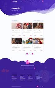 Online Dating Website Design Peyamba Dating Website Psd Template