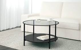 glass table decoration flower coco nesting round coffee tables house decor for throughout