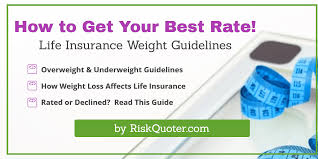 Life Insurance Weight Charts And Tips To Help You Save By