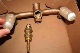replacing bathroom faucet kitchen replace bathtub faucet valve stem how to install bathroom faucet in the