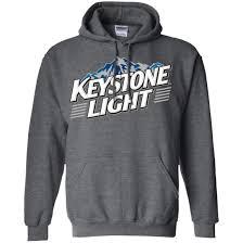 Keystone Light Sweatshirt Keystone Light Beer T Shirt Pullover Hoodie