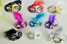 Decorative Masquerade Masks Masquerade Decorations eBay 52