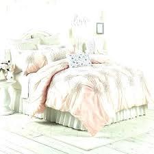 blush pink duvet cover linen set
