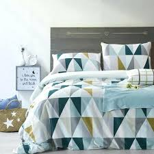 quilts quilt cover blue cotton style bedding set quilt cover blue and white geometric duvet