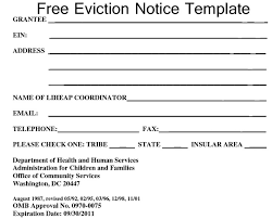 Eviction Notices Template Eviction Notice Pdf Get Eviction Notice Forms Free Printable With 30