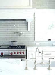 white glass subway tile contemporary light grey color intended for backsplash tiles