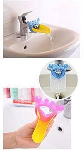 generic baby bathroom accessories cartoon faucet extender water tap sink handle extender for babies toddlers kids
