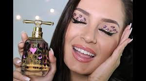 i love juicy couture pink leopard print makeup tutorial you