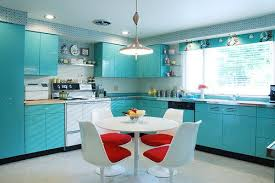 retro kitchen lighting. Midcentury-kitchen-with-geneva-metal-kitchen-cabinets Retro Kitchen Lighting E