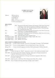 Resume Format For Graduate School Inspiration Resume Template For Graduate School Academic Business Proposal