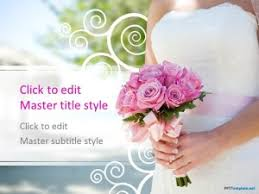 Wedding Powerpoint Template Free Free Wedding Ppt Template