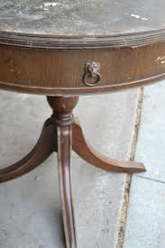 pin this if you are on the market for a round end table in your space save