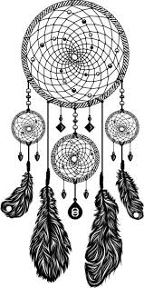Black And White Dream Catchers