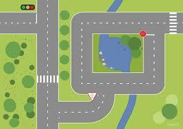 printable play mat road