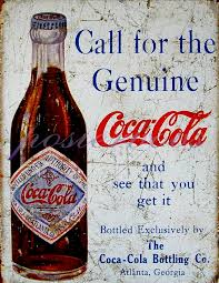 Vintage Coca Cola Advertising Giclee Print Type A
