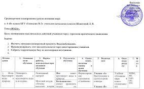 Рефлексивные отчёты по курсу Лидерство учителя в педагогическом  Рефлексивный отчёт Эффективная практика среднесрочного планирования