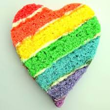 Image result for heart birthday cake