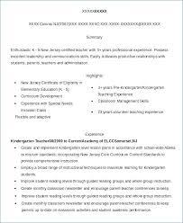 Substitute Teacher Resume No Experience Kantosanpo Com