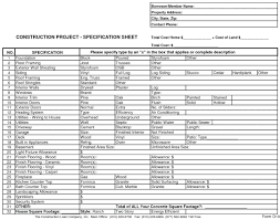 Construction Proposal Format template Residential Construction Proposal Template Proposals 98