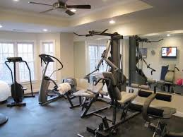 Attic Workout Room