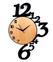 Small Picture Modern Wooden Wall Clocks India 130 Wooden Pendulum Wall Clock