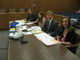 County teen court with