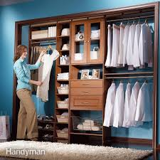 custom closet organizer systems awesome storage how to build a from scratch small regarding 7