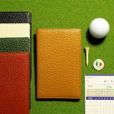 gift with the golf scorecard holder golf genuine leather scorecard case length model golf scorecard holder