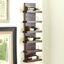 wall hung wine racks 6 bottle wall mounted wine rack wall mounted wooden wine racks uk