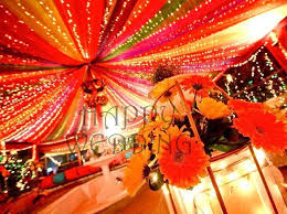 Colorful Canopy For Mehndi Indian Decor For Home  Indian Indian Wedding Decor For Home