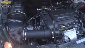 Cruze chevy cruze 1.4 turbo performance upgrades : Custom Cruze air intake 1.4 turbo - YouTube