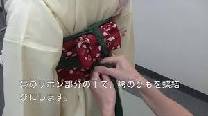 小学生のための袴の着付け袴レンタル館 Youtube