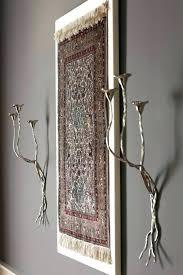 wall rug art hang on how to persian