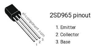 / maybe you would like to learn more about one of these?. 2sd965 Npn Transistor Complementary Pnp Replacement Pinout Pin Configuration Substitute Marking D965 Equivalent Datasheet