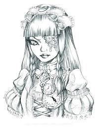 Gothic Coloring Pages Coloring