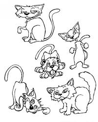 Small Picture Cat and mouse coloring pages Hellokidscom