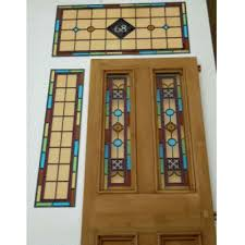 exterior kyle stained glass door
