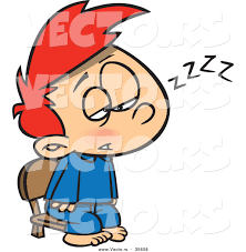 stay awake clipart clipart kid vector of a tired boy trying to stay awake for santa by ron leishman