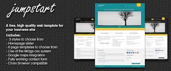 Business Portfolio Template Jumpstart Free Business Portfolio Web Template Codeplay