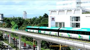 see how kochi metro rail runs through kochi animation video