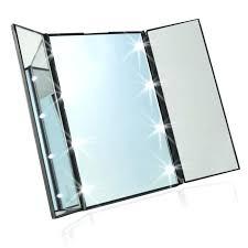 makeup lighting fixtures. Professional Makeup Lighting Fixtures Led Mirror With Light Toilet Folding Within Portable Vanity Lights Decora