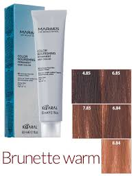 Kaaral Hair Color Chart Zero Ammonia Creative Beauty Concepts