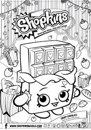Small Picture Shopkins Coloring Pages Season 1 Apple Blossom Party Shopkins