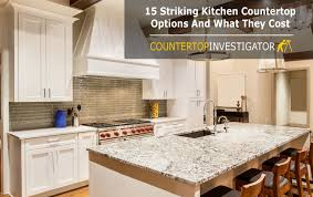 15 striking kitchen countertop options and what they cost