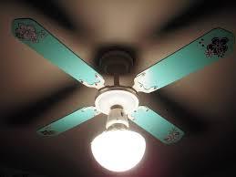 image of unique painted ceiling fan blades designs ideas