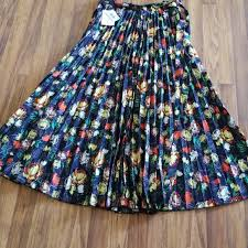 Deanne Skirt Size Chart Lularoe Deanne Skirt Size Small Nwt