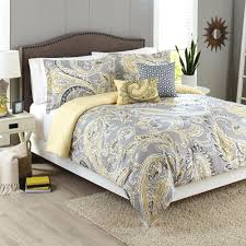 gray yellow duvet cover grey and bedding nz